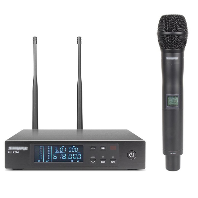 buy top quality qlxd24 qlxd2 qlxd4 cordless mic uhf professional wireless. Black Bedroom Furniture Sets. Home Design Ideas
