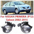 For NISSAN PRIMERA (P12) Saloon 2002-2015 Car Styling Front Bumper Halogen Fog Lamps High Brightness FOG LIGHTS 8200002470