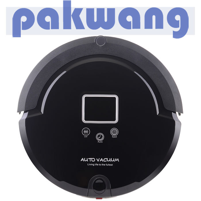 A320 Automatic vacuum cleaner with UV Lamp, Auto Recharge Base, Virtual Wall, Remote Control,LED Display Robot Vacuum Cleaner