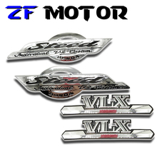 Stickers Motorcycle-Petrol-Cover Steed Vlx Decals Decoration Protect Fuel-Gas-Tank Honda