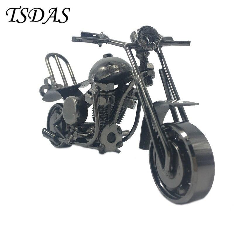 Černá potahová žehlička Ruční kreativita Motocyklový model - Dekorace interiéru