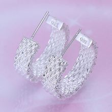 Fashion Silver Plated Earrings