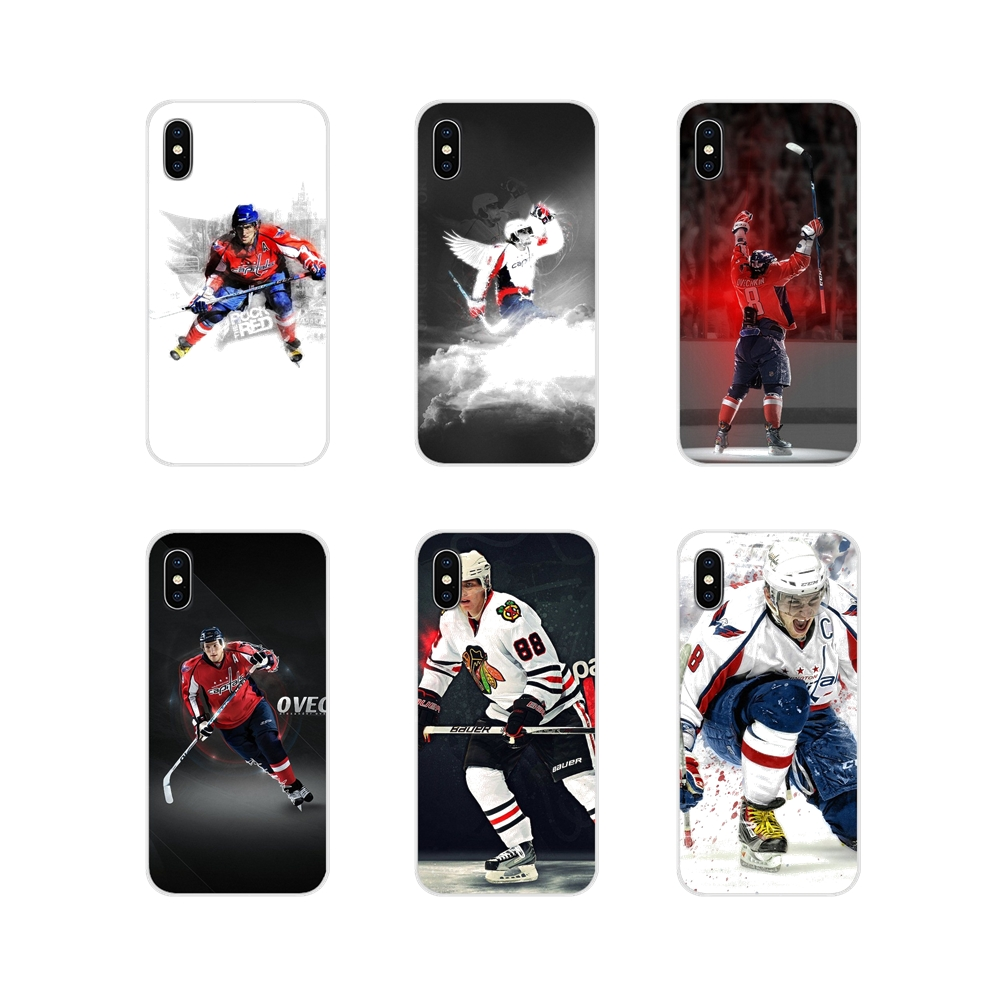 For Apple iPhone X XR XS MAX 4 4S 5 5S 5C SE 6 6S 7 8 Plus ipod touch 5 6 Silicone Skin Cover Alexander Ovechkin Nhl Star Hockey(China)