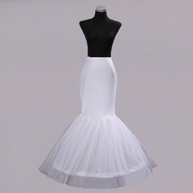 535019e00ad2 PWV276 Free shipping Wedding Dress Bridal Gown Fishtail Mermaid Petticoat  Underskirt