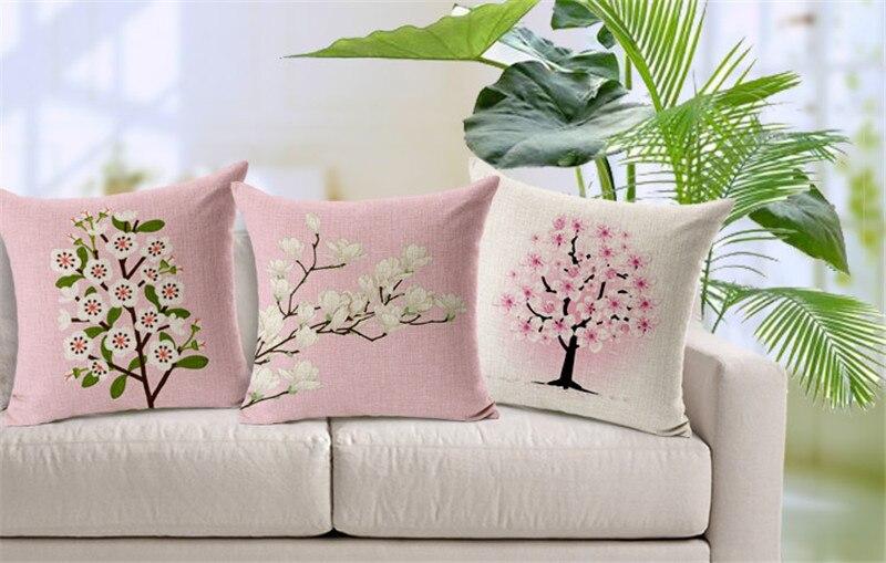 wholesale Cushion Without Core Custom Cotton Linen Decorative