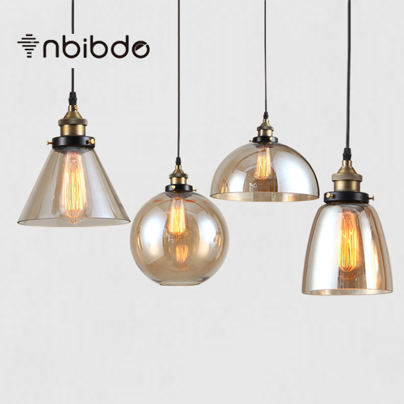 Aliexpress.com : Buy American Vintage Pendant Lights Amber