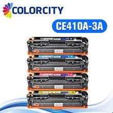 1 компл. CE410A-CE413A совместимый тонер-картридж для hp laserJet Enterprise 300 Цвет M351 M375nw 400 цвет M451nw M451 принтера