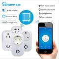 Sonoff S20 Akıllı Ev WIFI Güç Soketi Kablosuz akıllı anahtar şarj adaptörü ile ev otomasyonu Alexa App ios Android