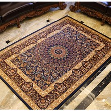 Retro style classical carpet for living room coffee table carpet, rectangle ground mat , Persian home decoration