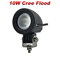 2pcs 2inch 10W LED Work Light Spot Flood Tractor ATV Motorcycle Offroad Fog Light LED Work