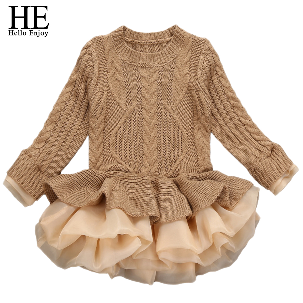 kids clothes baby dresses winter Cute Knit long sleeved girl sweater dress toddler girls birthday party princess holiday dress spring autumn cute baby kids girls party dress kids clothes cotton toddler girl clothing long sleeve baby girl princess dress