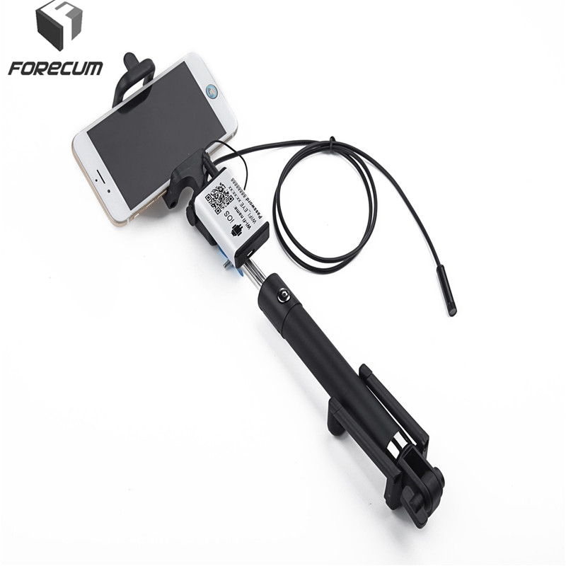 FORECUM 5.5mm Lens Handheld  IOS Android Endoscope  1m/3.5m/5m Waterproof IP67 USB Wifi Endoscope Mini Camera Inspection Camera en66 6led 5 5mm endoscope ip67 waterproof inspection camera usb for windows8 7 xp vista 2000 wifi box for ios android