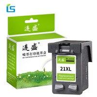 21XL 22XL заправленный чернильный картридж Замена для hp21 22XL для Deskjet 3915 3920 D1320 F2180 F2280 F4180 F380 принтер