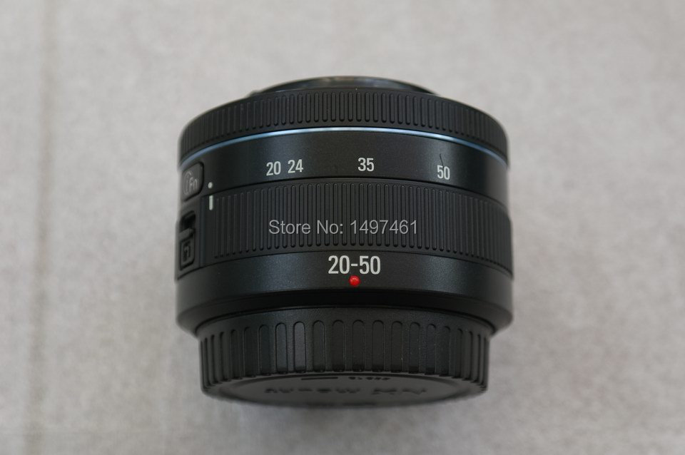 I-Fn 20-50mm f/3.5-5.6 ED zoom lens For Samsung NX1000 NX1100 NX2000 NX3000 NX200 NX210 NX300m NX3300 NX500 camera 8x zoom telescope lens back case for samsung i9100 black