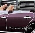5 M U Estilo DIY Car Interior Ar Condicionado Tomada Decoração Faixa de Ventilação Grade Cromada Faixa Decor Prata Acessórios Do Carro ferramenta