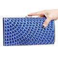 Ceramics Red/Blue/Gold/Color Mixed Candy Women Bags Day Clutches Purse Evening Bags With Chain Shoulder Evening Bag