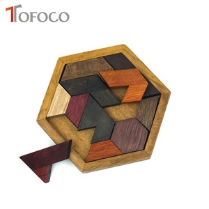 TOFOCO Funny Wooden Puzzle Toy