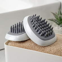 Hair Scalp Massager, Shampoo Brush With Soft Silicon Head Tour Chip Dandruff