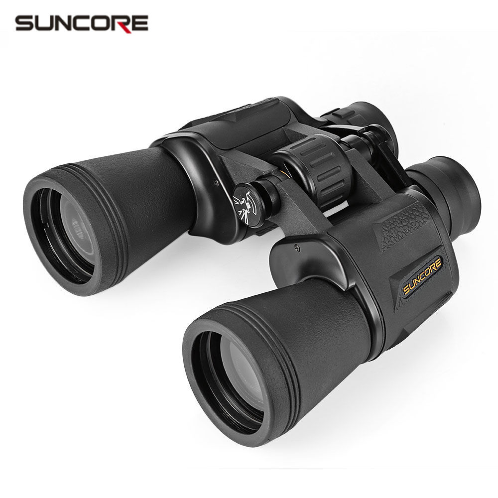 SUNCORE 20X50 119M / 1000M HD Vision Wide-angle Prism Binocular Outdoor Folding Telescope Scope free shipping suncore traveler 8x35 night vision binocular telescope fmc model