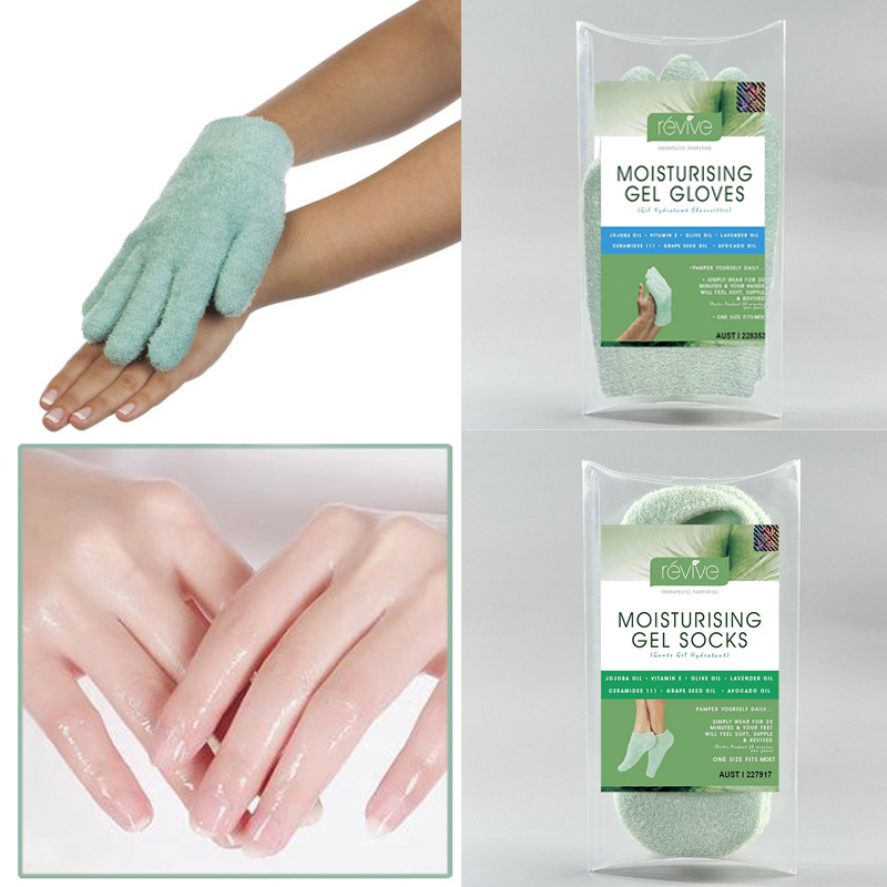 Australia Moisturizing Gel Gloves with Essential oil Hands Mask Repair Dry Hard Skin Hand Care Soft Smooth Hand Care Treatment