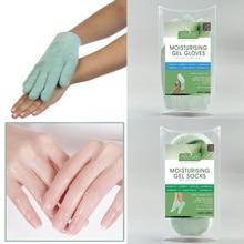 Australia Moisturizing Gel Gloves with Essential oil Hands Mask Repair Dry Hard