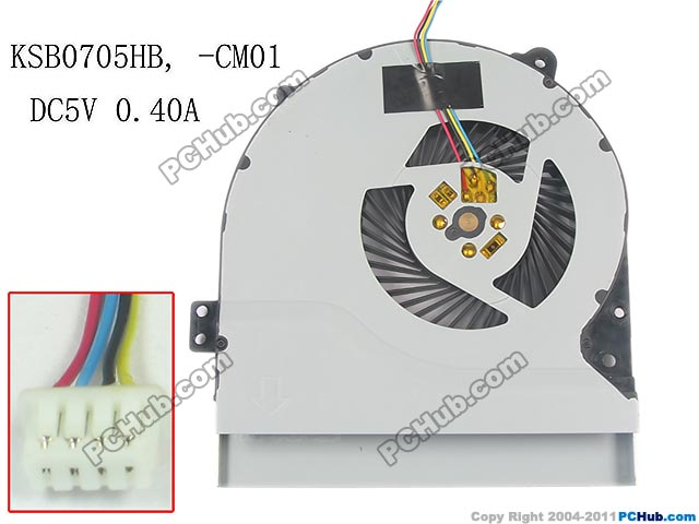 Delta Electronics KSB0705HB CM01 Server Fan DC 5V 0.40A 4-wire