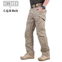 TAD IX9 Militar Tactical Cargo Outdoor Pants Men Combat SWAT Army Training Military Pants Cotton Hunting