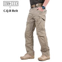 S ARCHON IX9 miasto wojskowe Tactical Cargo Spodnie Mężczyźni SWAT Combat Army Spodnie męskie casual wiele kieszenie stretch Cotton spodnie tanie tanio Mężczyzn Pełna długość Lycra spandex bawełna od 29 5 do 40 Połowie Regularne Sukno Midweight Spodnie cargo Zamek błyskawiczny Fly