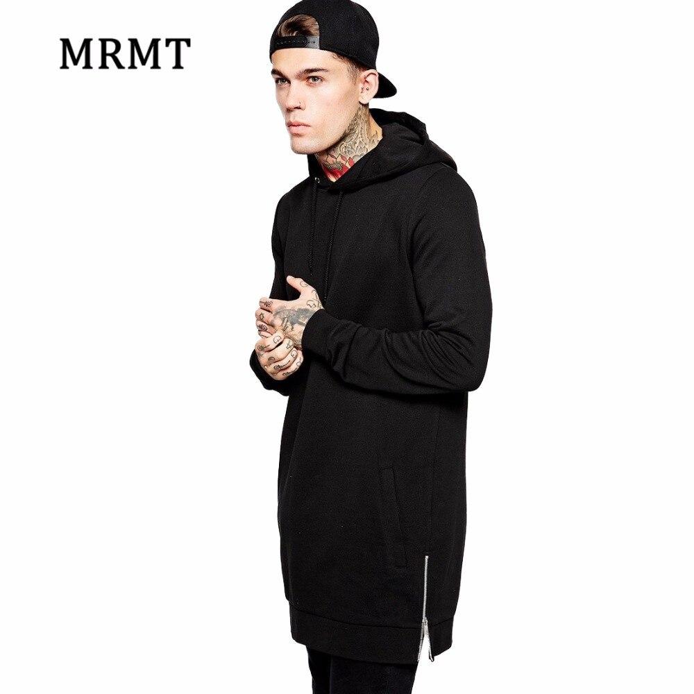 MRMT 2019 Brand Mens Extra Long Black Hoodies Sweatshirts For Male Hoody Sweatshirt Zipper Men Long Hoodie Man Clothing