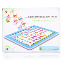 11-in-1 multifunction Machine Learning English Alphabet number song baby ABS learning machine early Educational toy for children