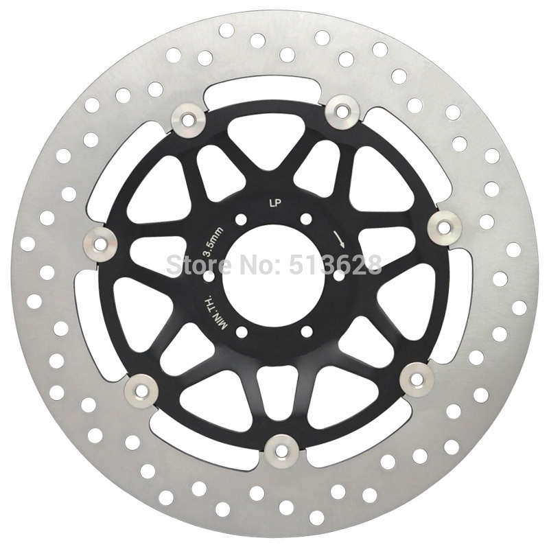 Motorcycle Front Right Brake Disc Rotor For Honda RS125 RS250 R CB400 CBR400 CBR600 CBR900 RR RVF400 VFR400 VFR750 VTR1000 NEW 2 pieces motorcycle front disc brake rotor scooter front rear disc brake rotor for honda cb400 1994 1995 1996 1997 1998
