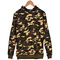 2016 Winter Camouflage Color green Clothes XXS To 4XL Thick Hoodie With Cap Men/women Camouflage Series Fashion Depth/shallow