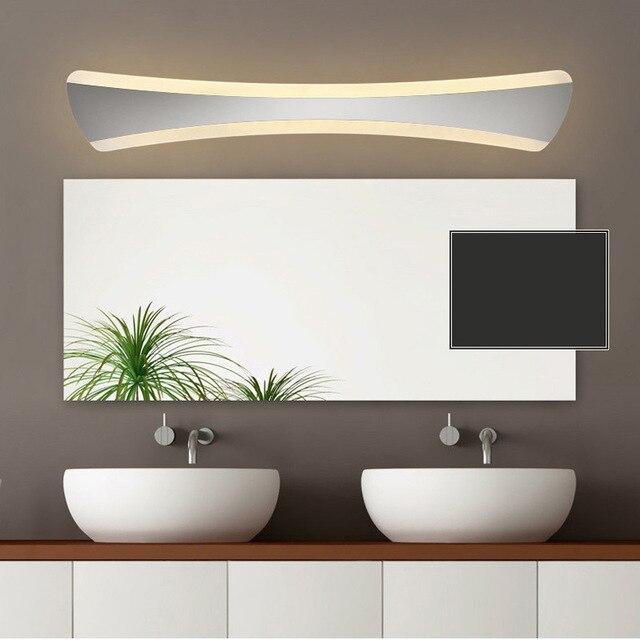 520mm tie shape led bathroom mirror light 85 265V 15W bedroom vanity ...