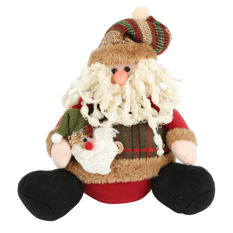 Newest Christmas Decorations 2013: New Christmas Decorations Doll Sitting Position Santa