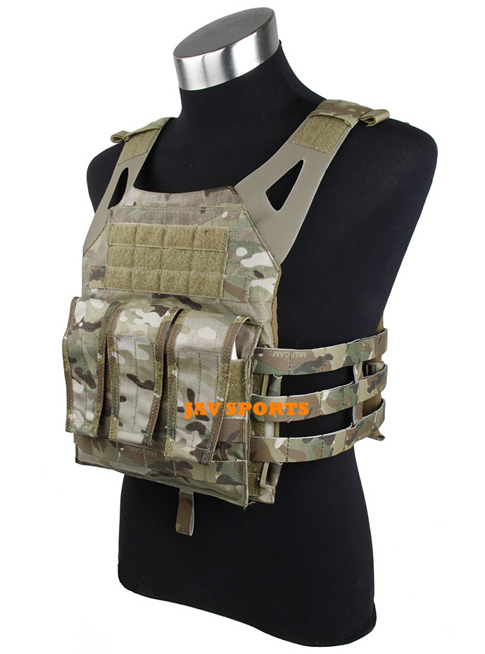 TMC Jump Plate Carrier JPC Tactical Vest JPC Multicam Genuine Multicam+Free shipping(SKU12050566) эргорюкзак boba carrier vail