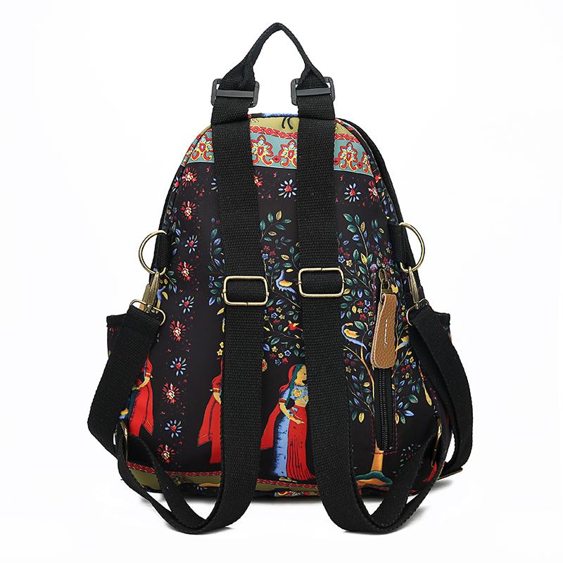 2019 New Women Emoji Shoulder Bag Best Travel Women Backpack Female Printing Waterproof School Knapsack mochila Bagpack Pack 13