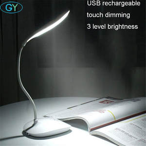 Book-Light Lamp Bedside Usb-Charging Folding Touch 3brightness Led Gift Dimming Wholesale