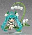 Nendoroid Hatsune Miku #493 Snow Miku Snow Bell Ver. PVC Action Figure Collectible Model Toy 10cm KT015