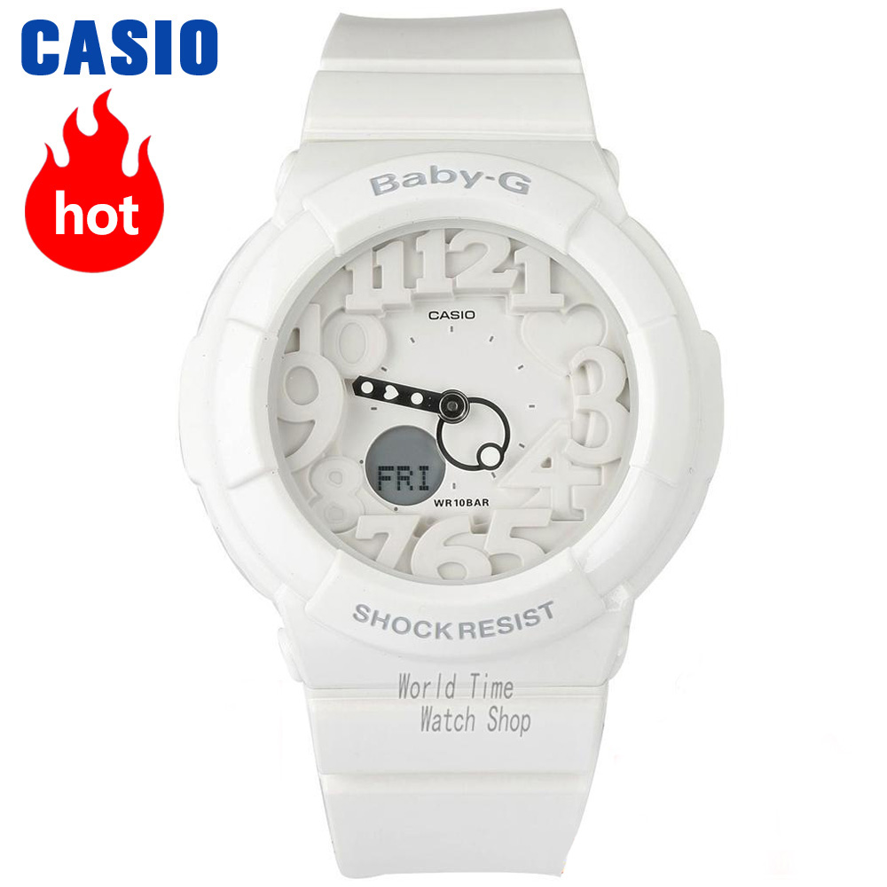Casio watch BABY-G Women's quartz sports watch double display outdoor trend waterproof baby g Watch BA-110GA casio ba 110ga 1a
