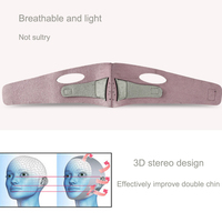 SWOISS 10PCS Women Face lifting Bandage 3D Elastic Mask Belt Reduces Double Chin V Shaping Lifting Firming Thin Tool Face Strip