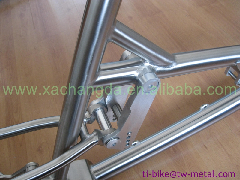 Titanium ritzel getriebe suspension fahrrad rahmen titanium e bike ...