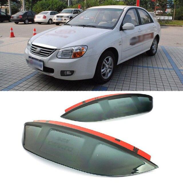 Blade Side View Mirror Rainproof Cover Sun Visor Shield For Kia Cerato 2011