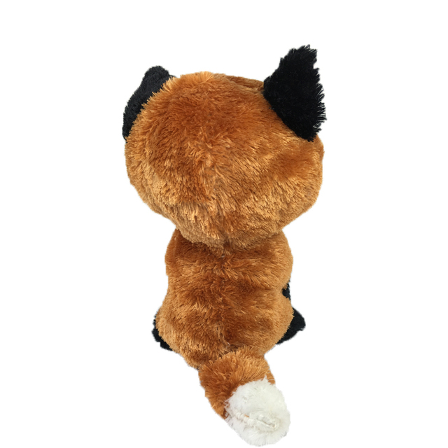 Plush Fox With Big Eyes