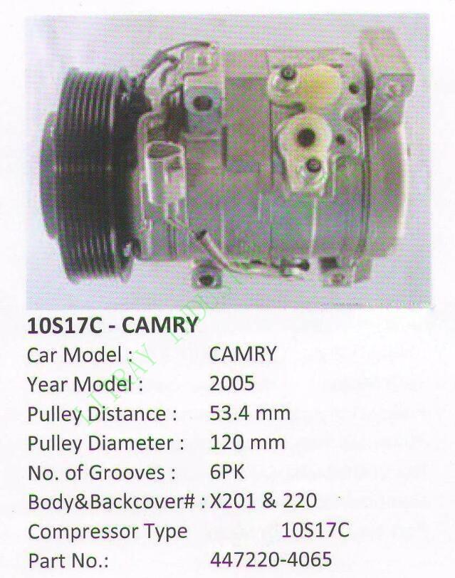 CAT-3721 CAMRY