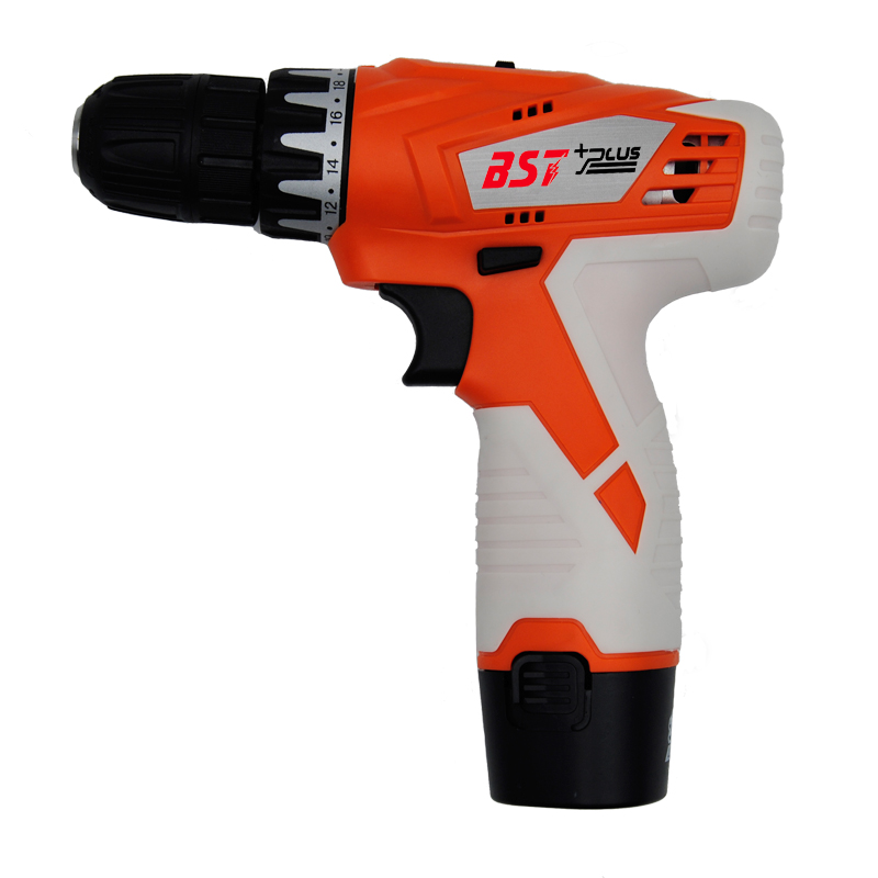 BST+PLUS(One style) 12V LITHIUM BATTERY 2 SPEED CORDLESS DRILL MINI DRILL HAND TOOLS ELECTRIC DRILL POWER TOOLS SCREWDRIVER professional 24v double speed lithium battery cordless drill power tools mini drill electric drill with 2 year warrantly