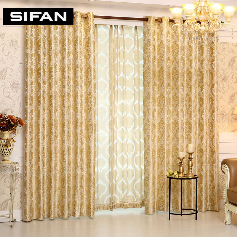 Buy european royal luxury jacquard for Where to buy drapes