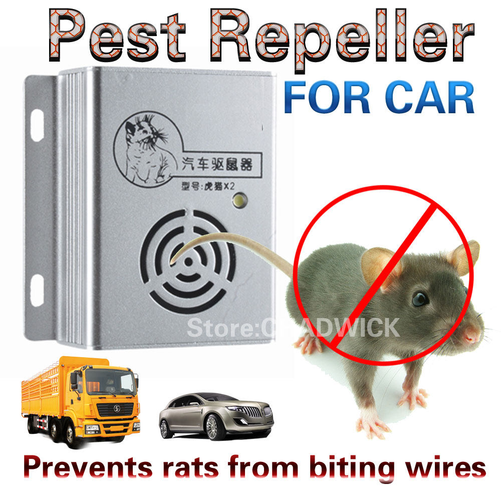 Car alarm Repeller Ultrasonic Electronic Cat Mousetrap Rodent artifact Engine compartment Rat CHADWICK Anti-rat engine safe 12V ontario knife rat 1