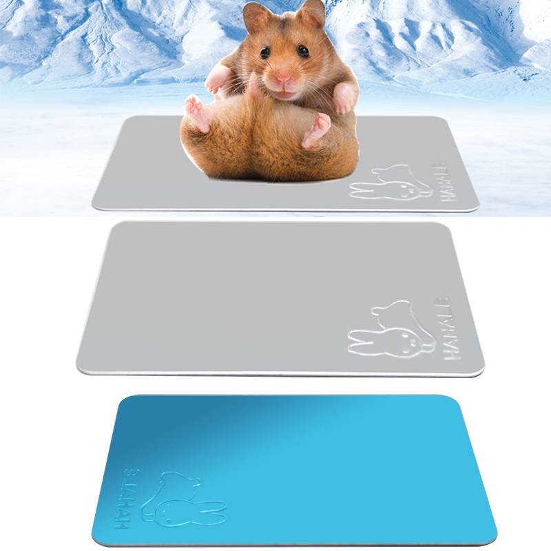 Pets Cooling Plate Hamster Totoro Rabbit Summer Heat Dissipation Mat Cool Down Pets Cage Decor Small Pet Supplies