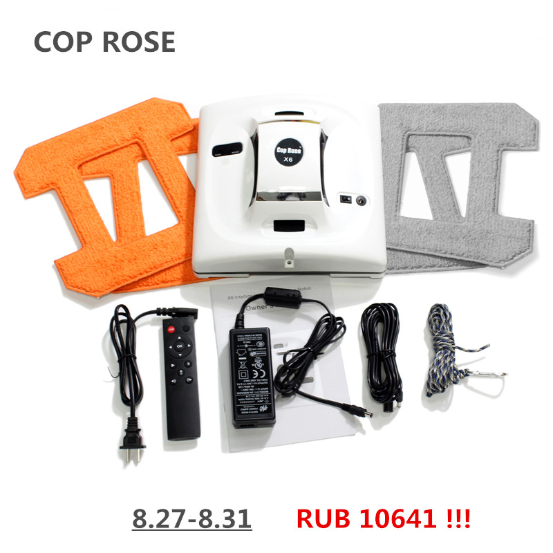 COP ROSE X6 Automatic Window Cleaning Robot,intelligent Washer,Remote Control,Anti fall UPS Algorithm Glass vacuum Cleaner Tool cop rose x6 smart robot window cleaner page 10