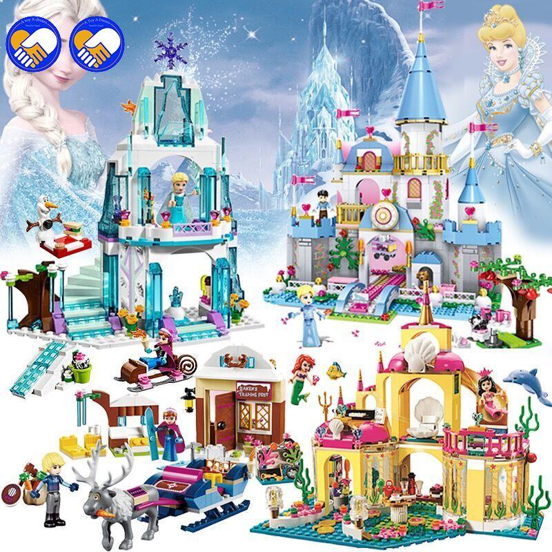New Series Compatible Legoinglys Friends Dream Princess Set Model Building Blocks Bricks Toys Best Christmas Gift For Children